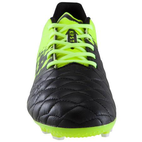 Sepatu Sepak Bola Dewasa di Lapangan Buatan Agility 500 AG - Hitam/Kuning
