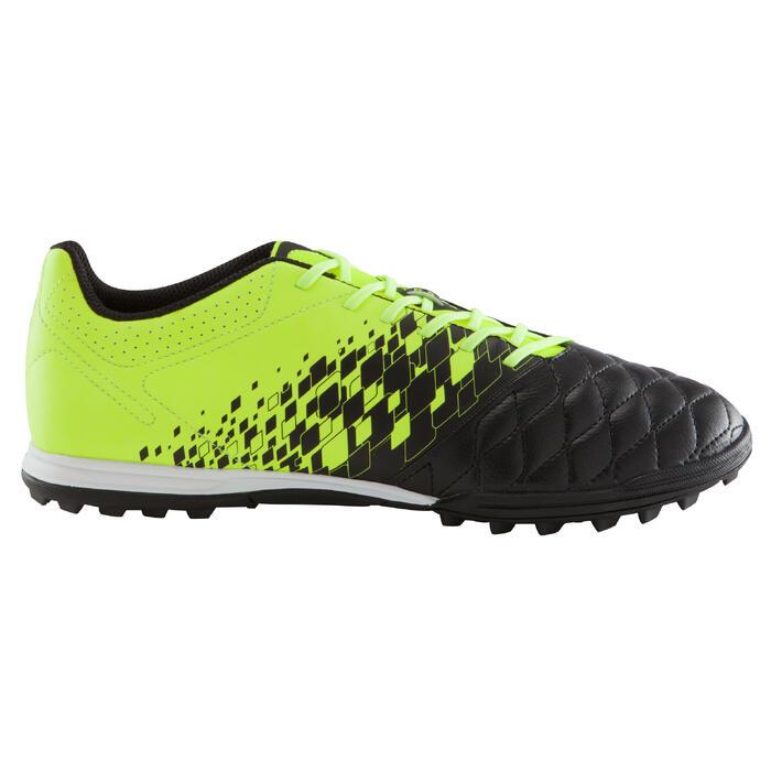 Botas de fútbol para adulto terrenos duros Agility 500 HG negro amarillo
