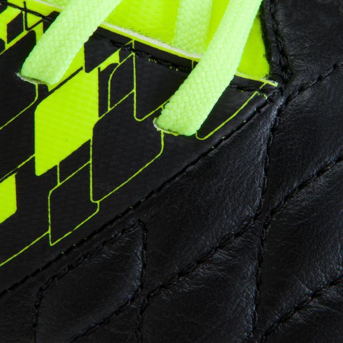 Voetbalschoenen Agility 500 HG voor hard veld, volwassenen, zwart/geel