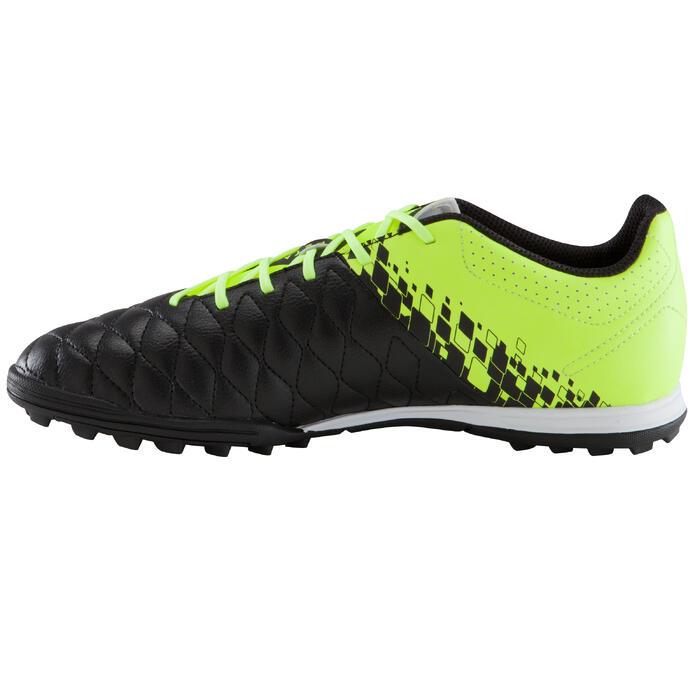 Chaussure de football adulte terrains durs Agility 500 HG noire jaune