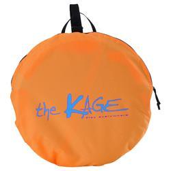 Portería de fútbol autodesplegable The Kage Light naranja