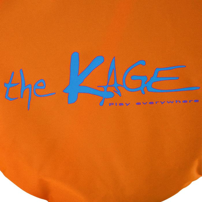 Portería de fútbol autodesplegable The Kage Light naranja