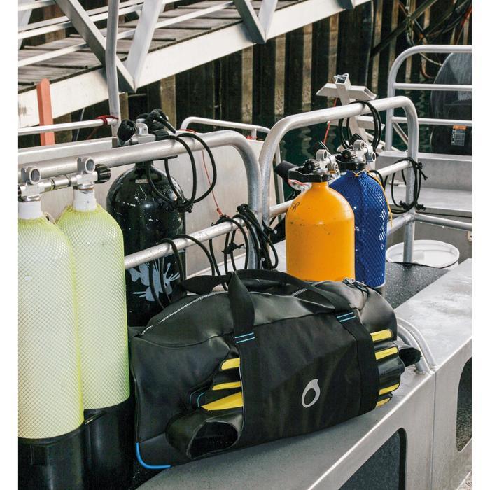 Sac de plongée sous-marine SCD 70 litres noir/bleu