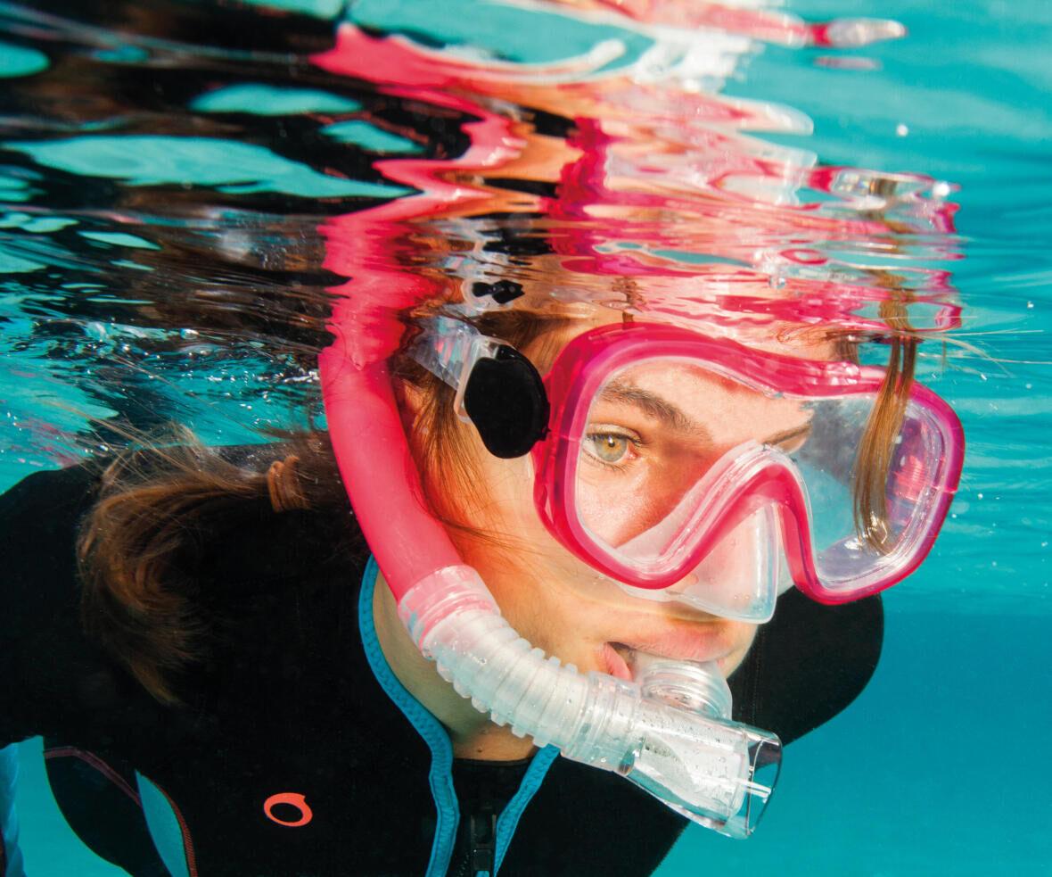 snorkelen Easybreath Subea Decathlon