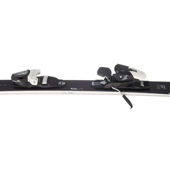 WOMEN'S ON-PISTE SKIS WITH ADIX 700 BINDINGS - BLACK