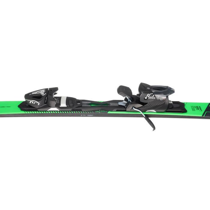 男款下坡雙板滑雪板BOOST 700,黑色與綠色