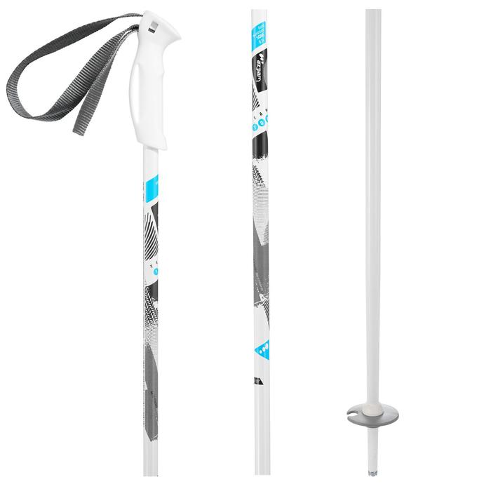 Skistokken voor kinderen Team 100 wit