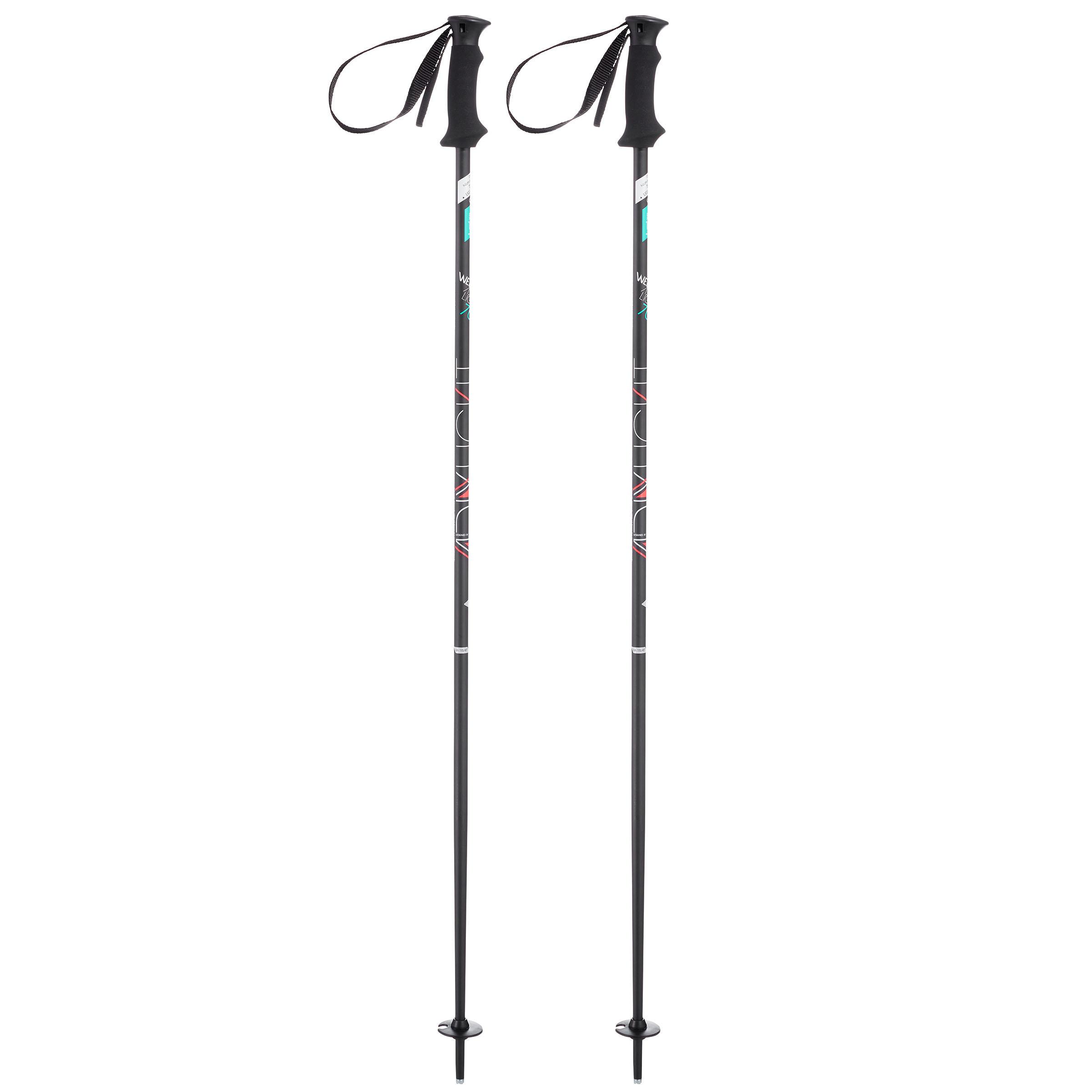 Wed'ze Skistokken voor dames Adix 700 Light