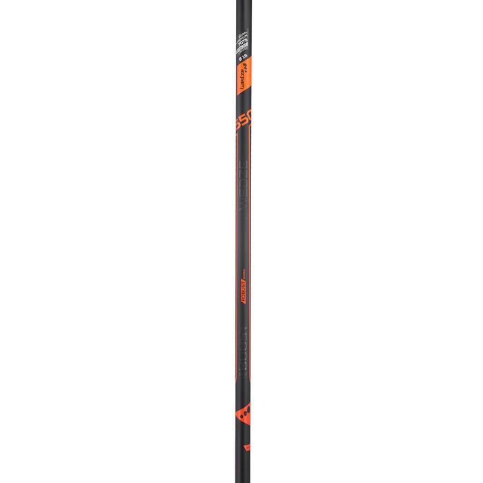 Skistokken voor pisteskiën voor heren Boost 550 Robust zwart/oranje