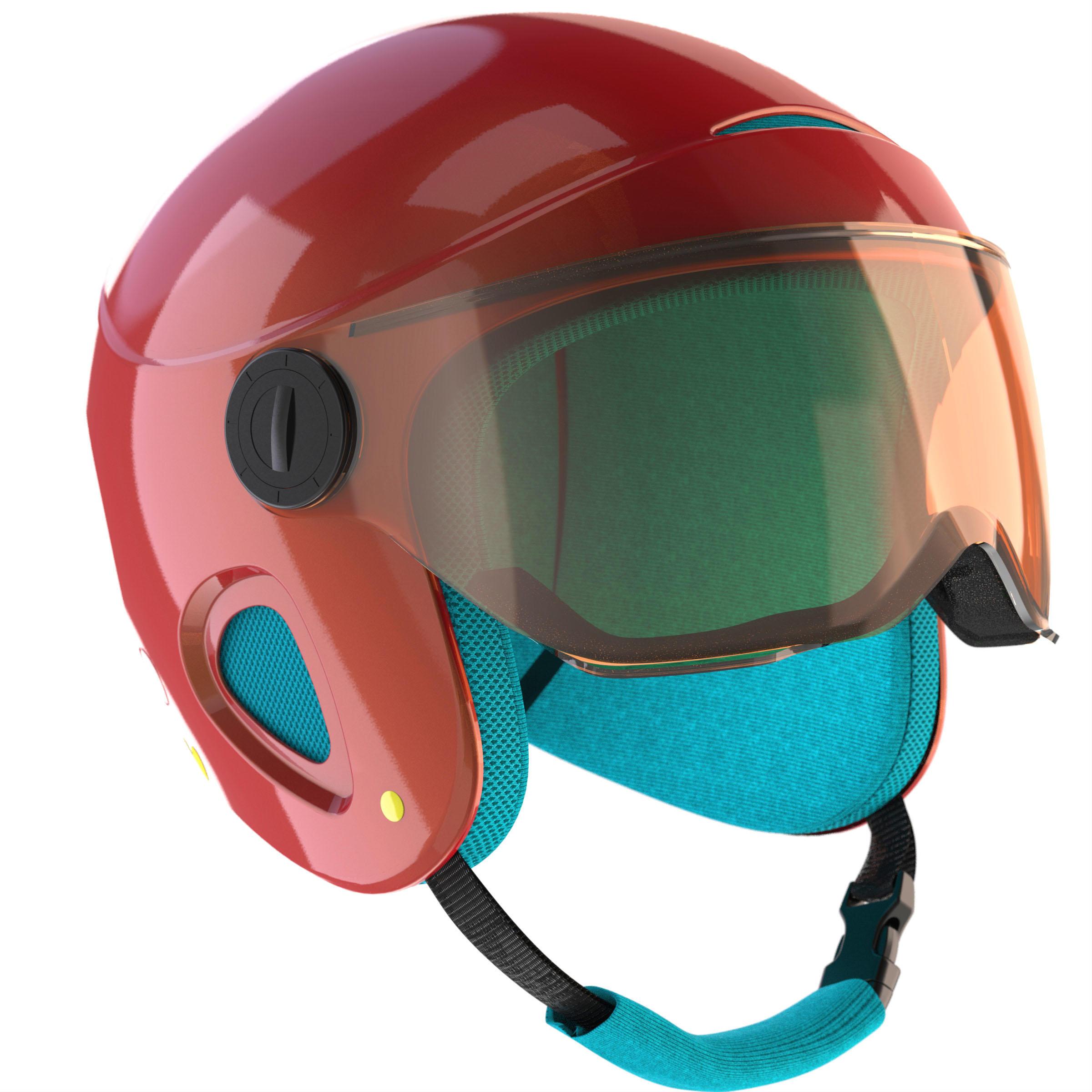 Wed'ze Ski-snowboardhelm voor kinderen H 450 thumbnail