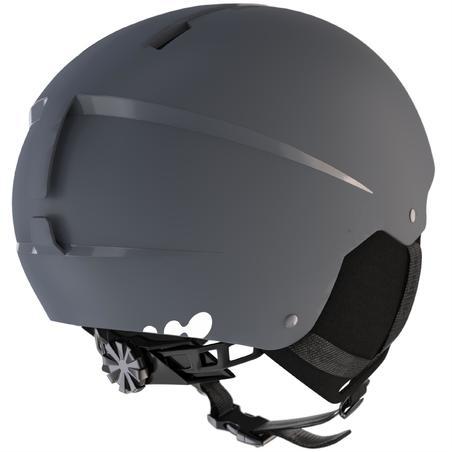Adult D-Ski Helmet H100 - Grey