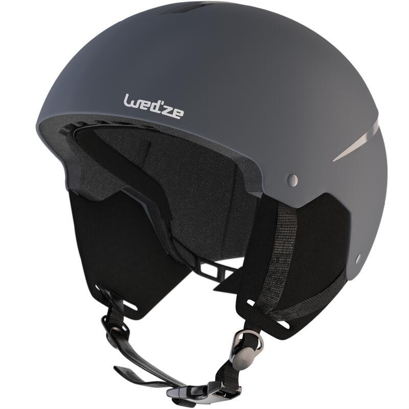 Adult D-Ski Helmet - Grey