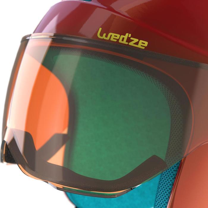 Casque de ski et de snowboard enfant H 450 JR gris. - 1177754
