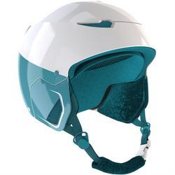 Children's ski and snowboarding helmet Stream 500 JR bleu.