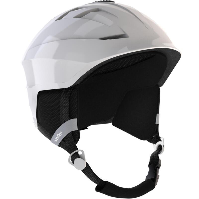 ADULT H 300 SKI HELMET, WHITE