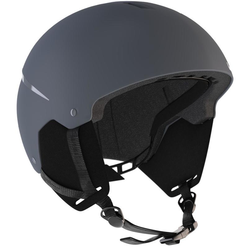 Casco de ski y snowboard adulto H 100 gris