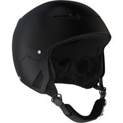 Adult's ski and snowboarding helmet Stream 500 black.