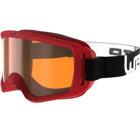 goggles snowboard  Snow 100 XS Fine Weather Ski and Snowboard Goggles - Red-P