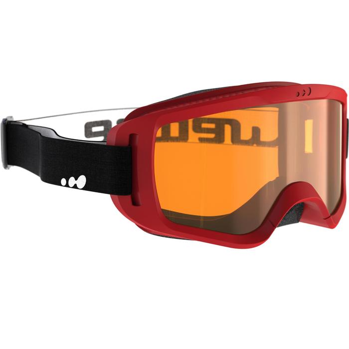 CHILDREN'S GOGGLES G 100 XS GOOD WEATHER RED