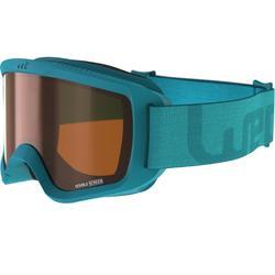 Ski- en snowboardbril volwassenen en kinderen G 140 zonnig weer