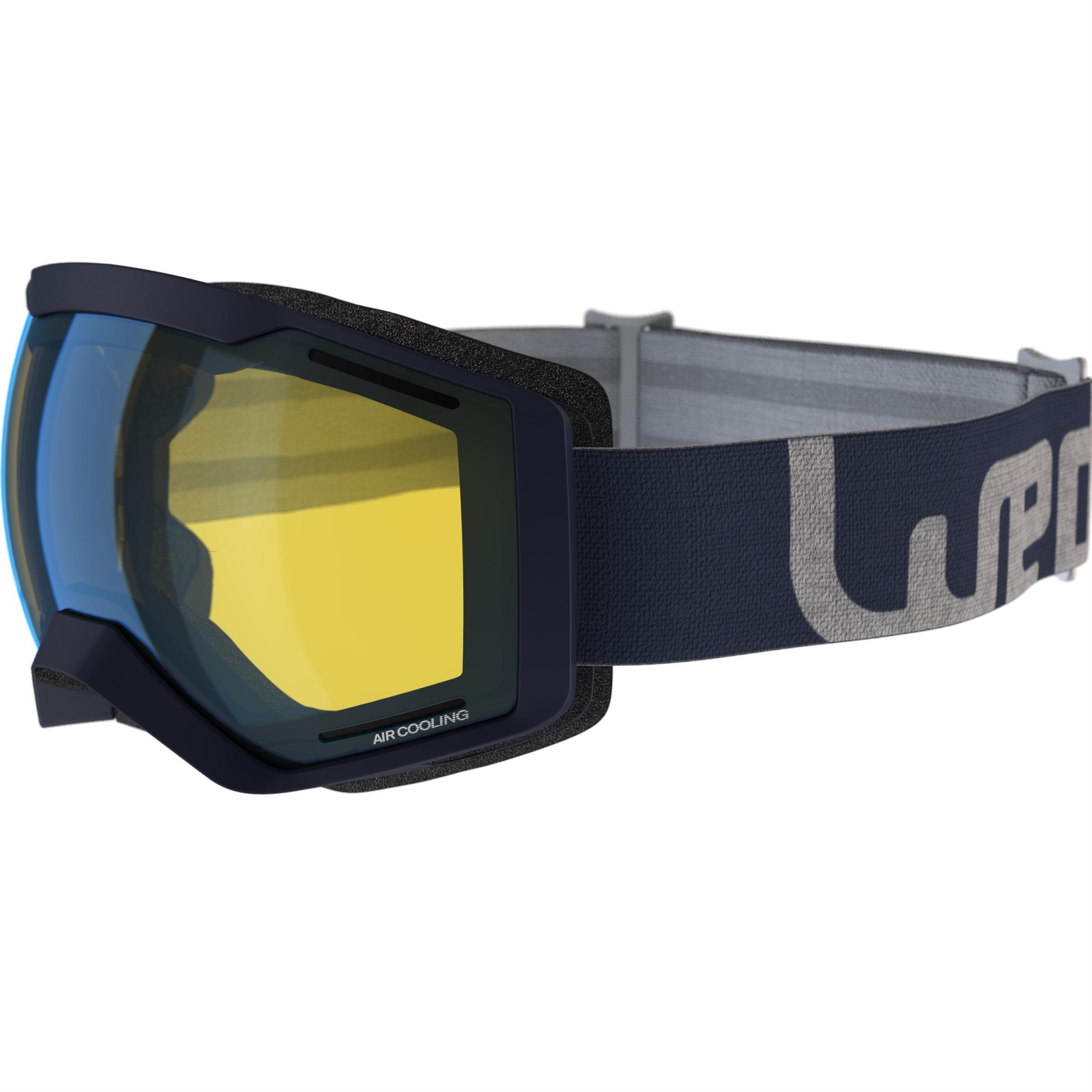Wed'ze Ski- en snowboardbril Bones 500 bewolkt weer- 18 thumbnail
