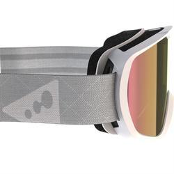Skibrille G 500 Damen und Kinder schönes Wetter weiß