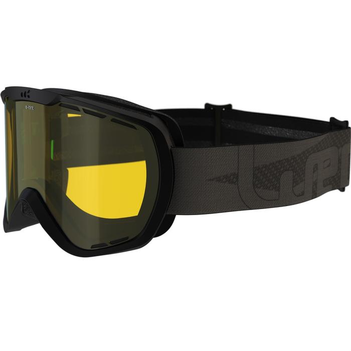 Skibrille G-Switch 940 Allwetter schwarz