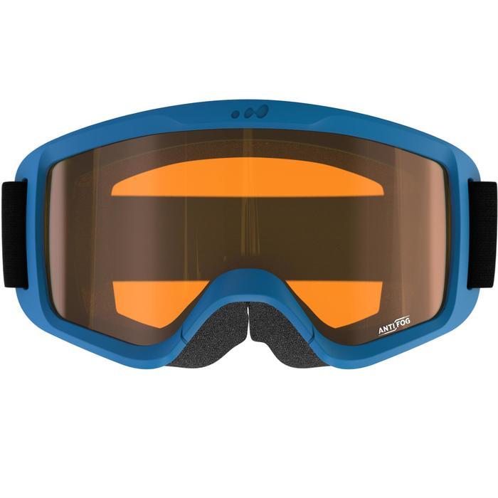 MASQUE DE SKI ET SNOWBOARD HOMME SNOW 100 BEAU TEMPS BLEU - P - 1177970