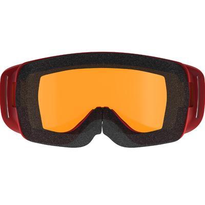 Gafas de esquí/trineo bebé clima soleado rojo