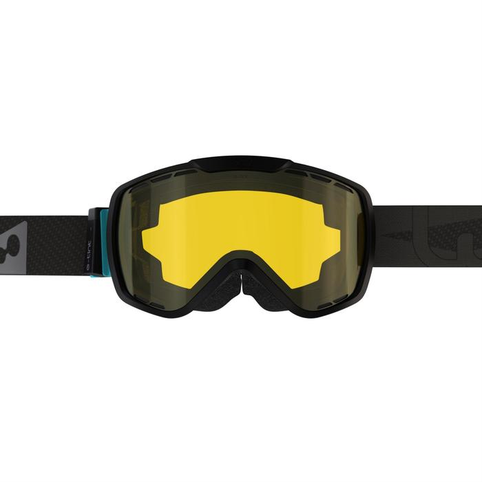 ADULT SKI AND SNOWBOARD GOGGLES G 940 E ALL WEATHER - ASIA BLACK