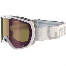 女款與女童好天氣單/雙板滑雪護目鏡G 500亞洲白