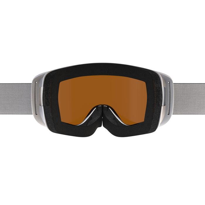 Máscaras y Gafas de Esquí y Nieve, Wed'ze G 140, Adulto y Junior, Buen Tiempo