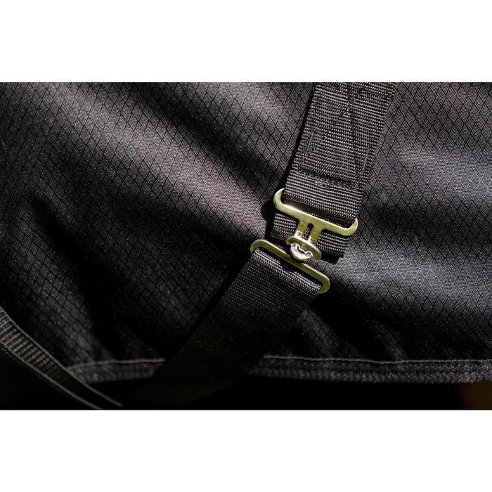Couverture extérieur imperméable équitation poney IMPER 200 600D noir - 1178160