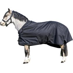Waterdichte outdoordeken pony Imper 200gr 600D zwart