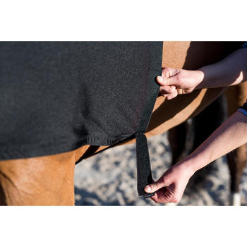 Brustschutz Pferd/Pony schwarz