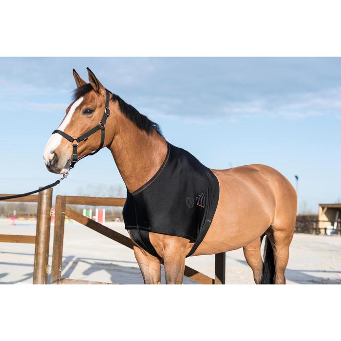 Protección Paletillas Equitación Fouganza Negro Caballo y Poni