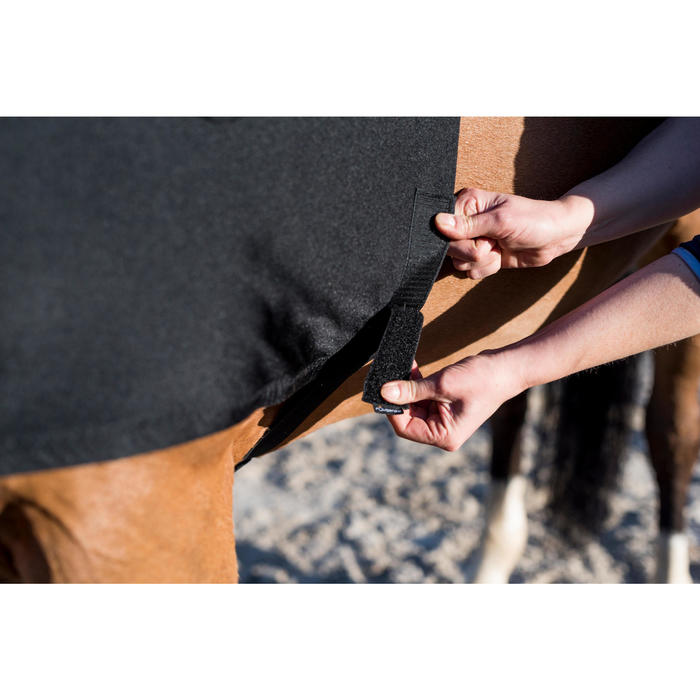 Schoftbeschermer paard en pony zwart