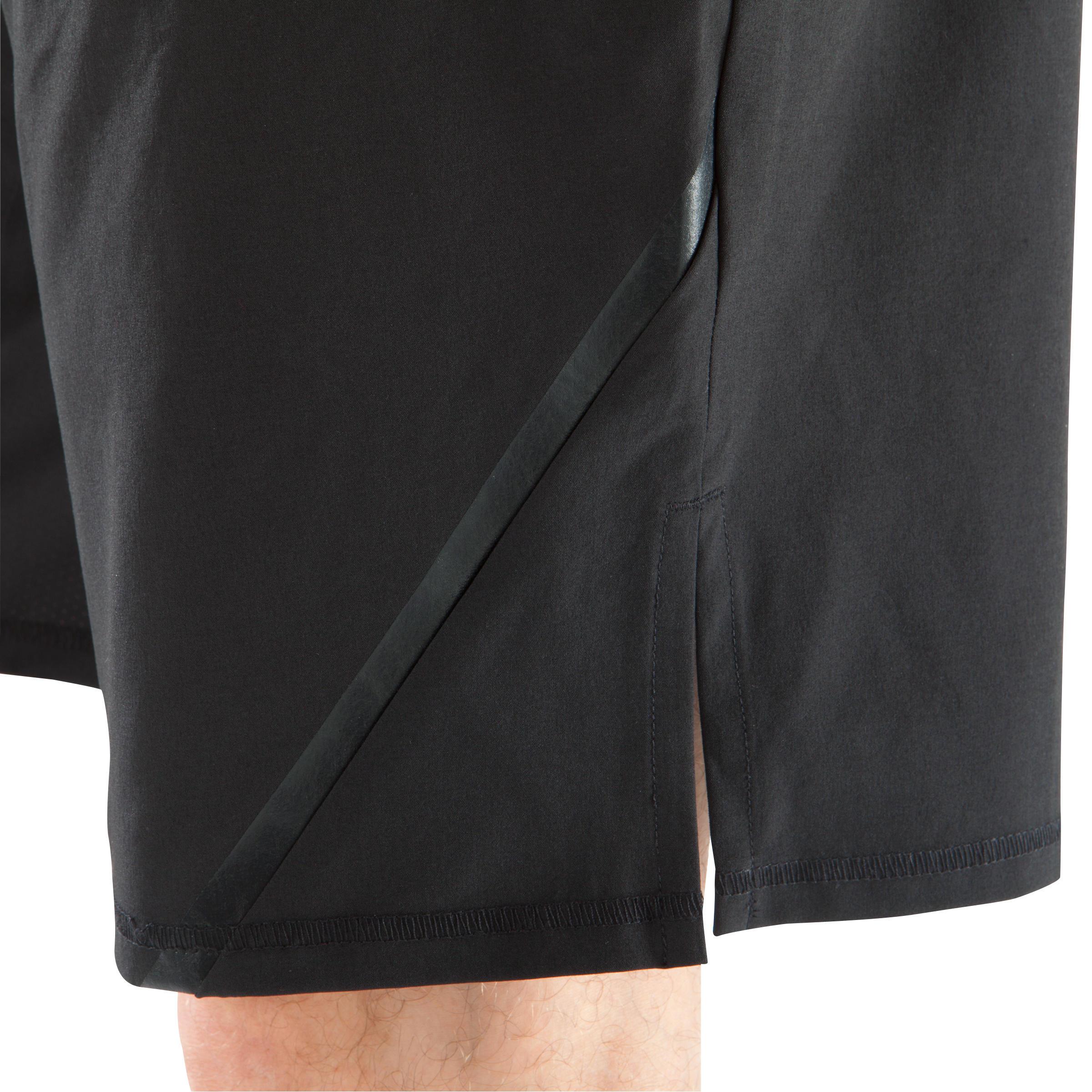 - Domyos Short Fitness krachttraining Muscle voor heren met grijze