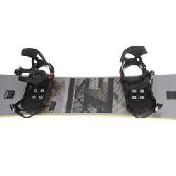 Pack Snowboard freestyle, mixte homme et femme, End Zone 500 Jib, gris