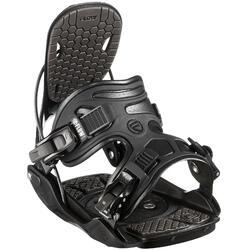 Snowboardbindung Alpha schwarz