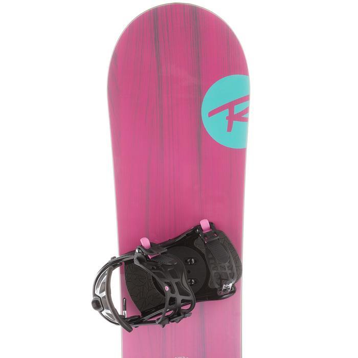 Snowboardset All Mountain dames Gala roze/blauw