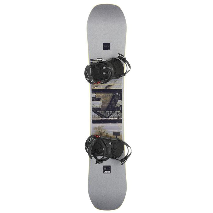 Pack Snowboard freestyle, mixte homme et femme, End Zone 500 Jib, gris - 1178676