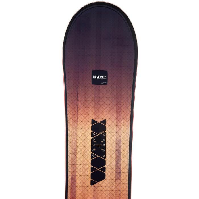 Tabla de Snowboard, Wed'ze Bullwhip 700 Dreamscape, Freeride, Hombre y Mujer