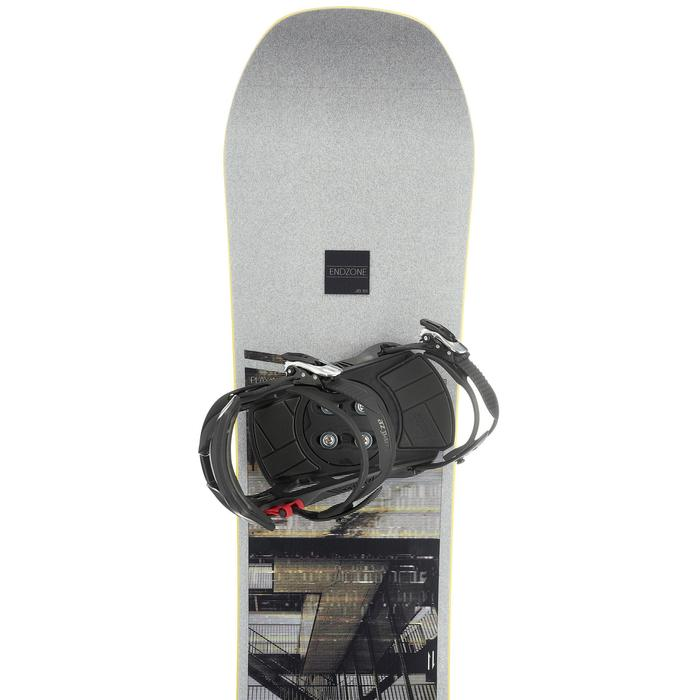 Pack Snowboard freestyle, mixte homme et femme, End Zone 500 Jib, gris - 1178710