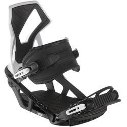 男款與女款單板滑雪板固定器Illusion 700 - 黑色與灰色
