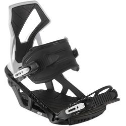 Unisex Illusions 700 black and grey snowboard bindings