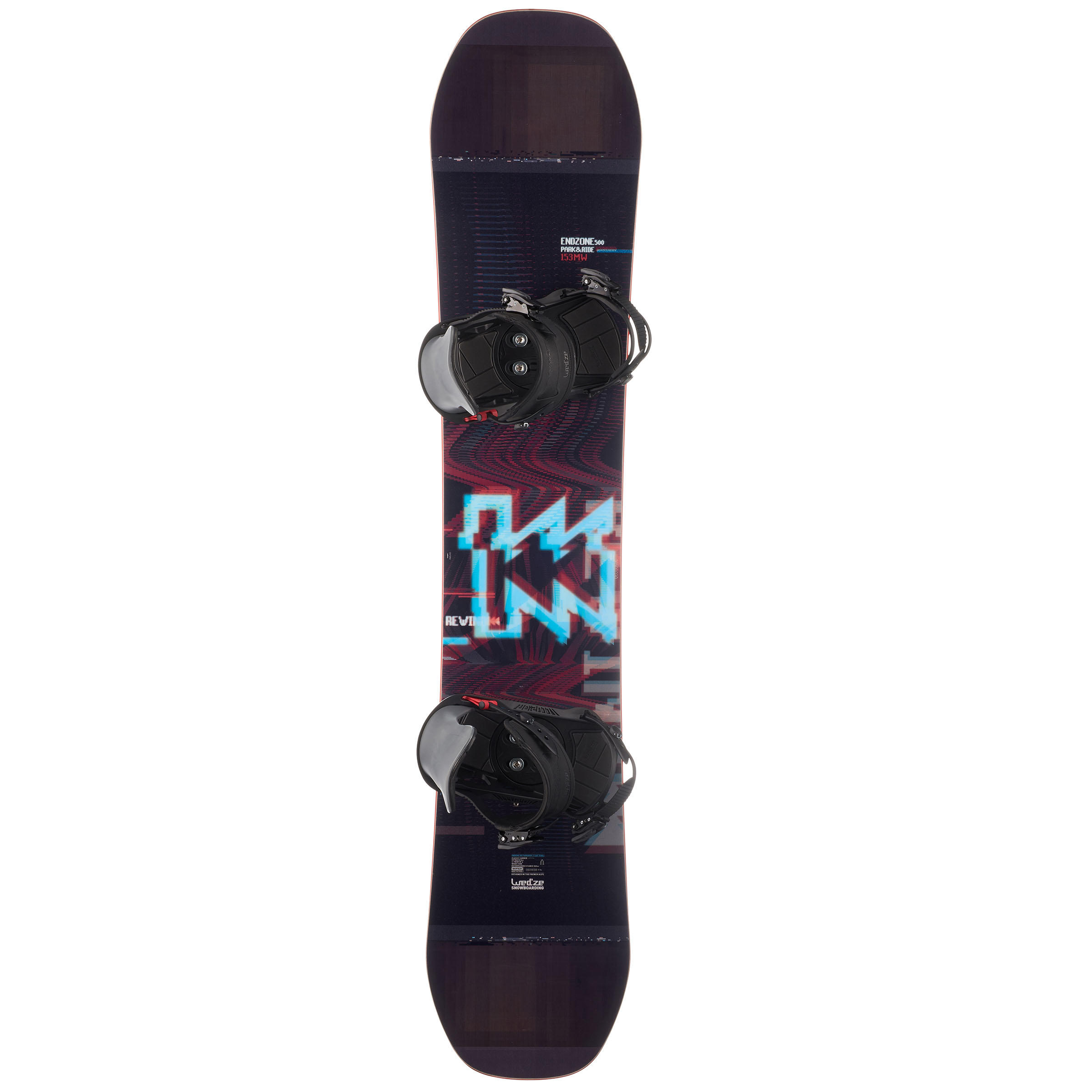 Unisex Endzone 500 Park & Ride All-Mountain and Freestyle Snowboard