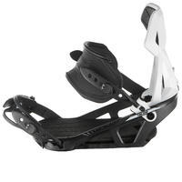 Men's Piste/Off-Piste Snowboard Bindings Illusion 700 - black and grey