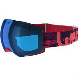 Ski- en snowboardbril voor heren G-View 600 zonnig weer geel - P