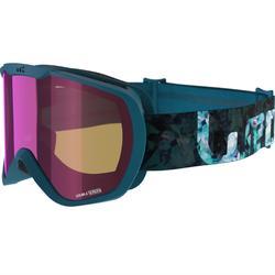 Ski- en snowboardbril volwassenen en kinderen G 500 zonnig weer